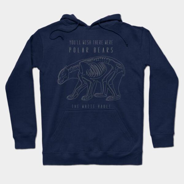 Polar Bear Gray - HOODIE