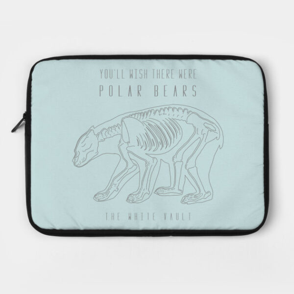 Polar Bear Gray - LAPTOP CASE