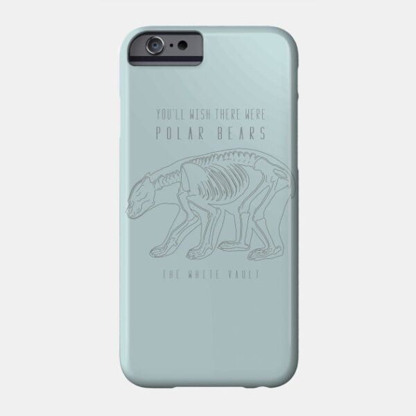 Polar Bear Gray - PHONE CASE