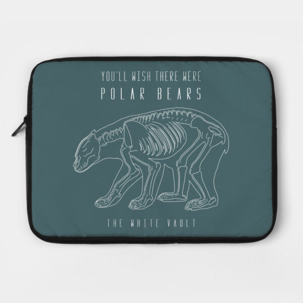 Polar Bear White - LAPTOP CASE
