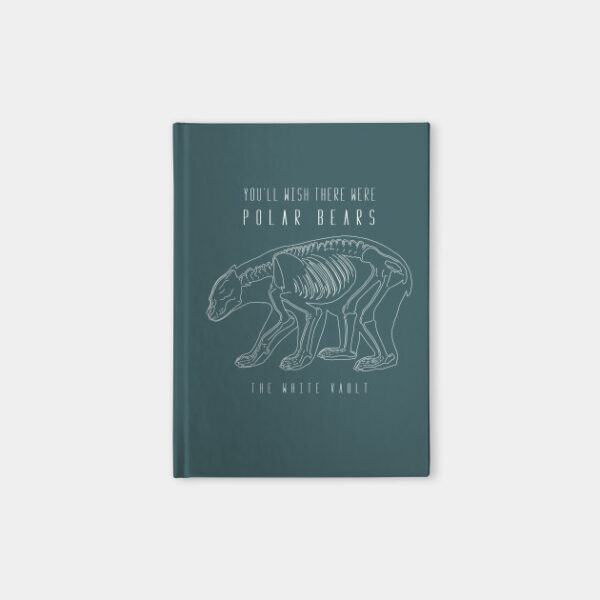 Polar Bear White - NOTEBOOK