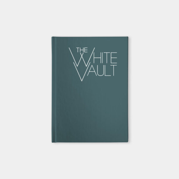 The White Vault Logo - NOTEBOOK