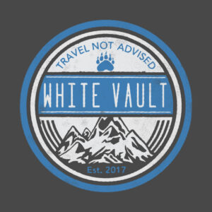 Travel Not Advised - Black Transparent - DESIGN