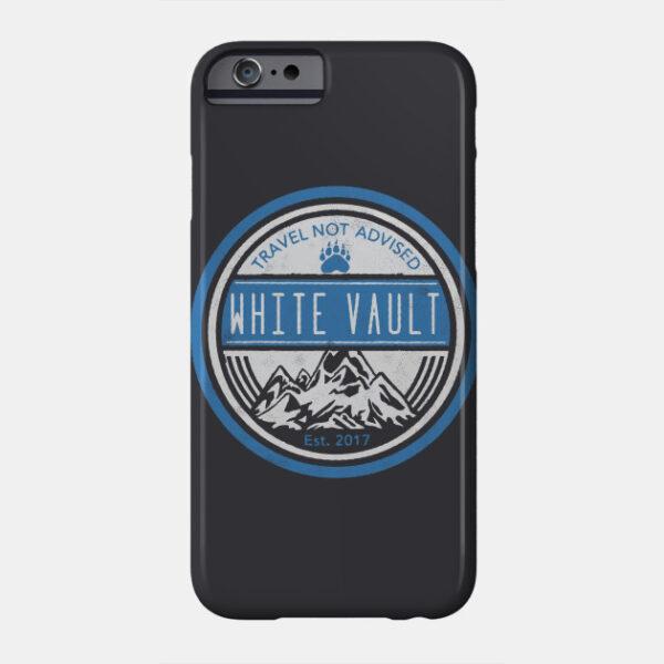Travel Not Advised - Black Transparent - PHONE CASE