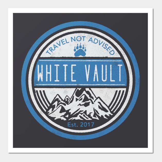 Travel Not Advised - Black Transparent - WALL ART