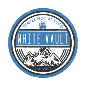Travel Not Advised - White Transparent - DESIGN