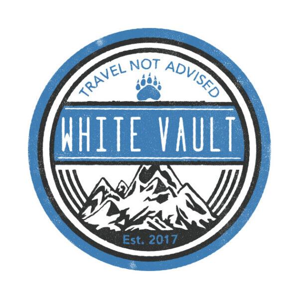 Travel Not Advised - White Transparent - DESIGN