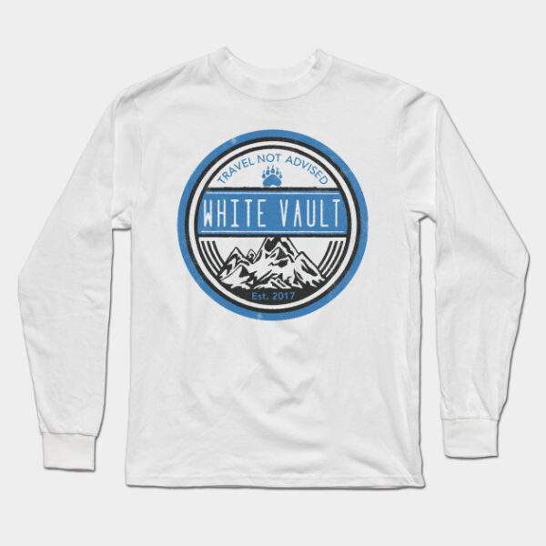 Travel Not Advised - White Transparent - LONG SLEEVE T-SHIRT