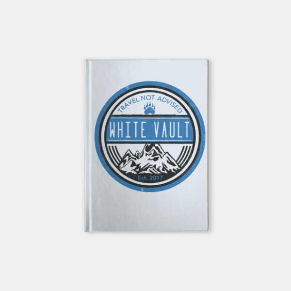 Travel Not Advised - White Transparent - NOTEBOOK