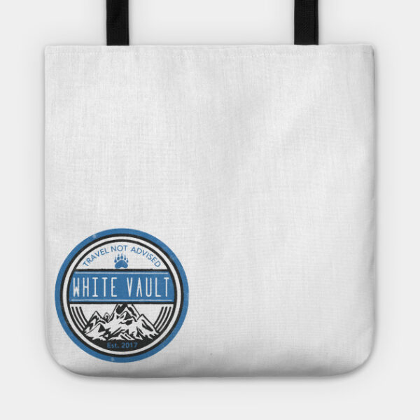 Travel Not Advised - White Transparent - TOTE